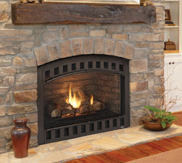 Heatilator Caliber NXT 36 Direct Vent Gas Fireplaces.