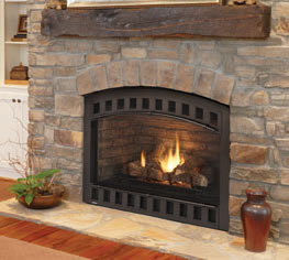 Heatilator Caliber NXT 42 Direct Vent Gas Fireplaces.