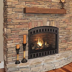Direct Vent Gas Fireplaces burn clean and do not require a chimney. Learn more or shop for vented fireplaces at Fine's Gas.