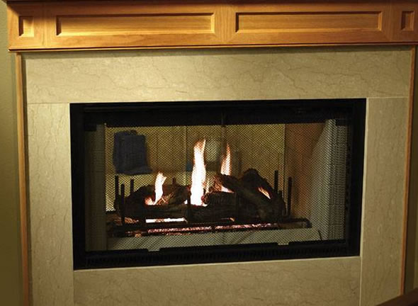 Heatilator 42 inch See-Through Wood Burning Fireplace