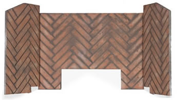 Deluxe Stacked Limestone Brick Liner
