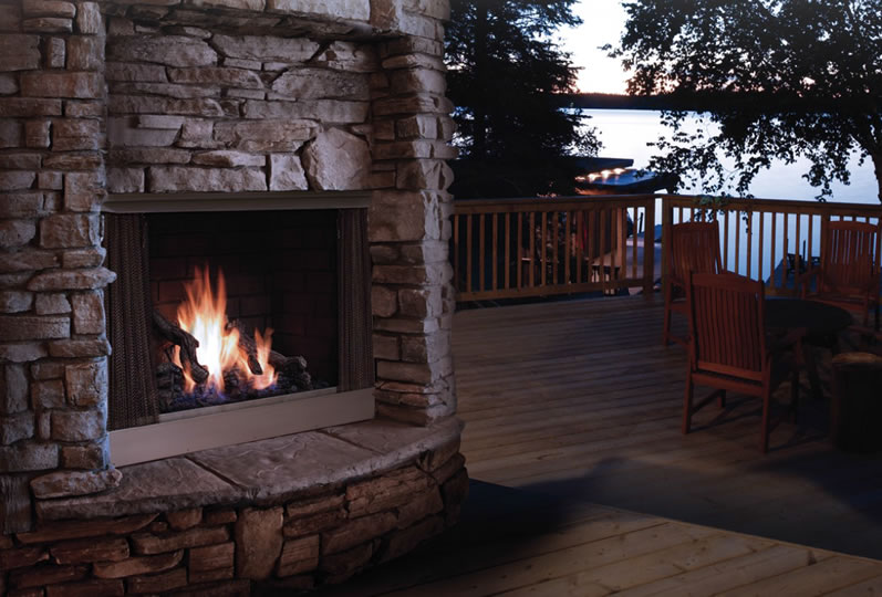 outdoor gas fireplace logs outside fire pit parts indoor for sale