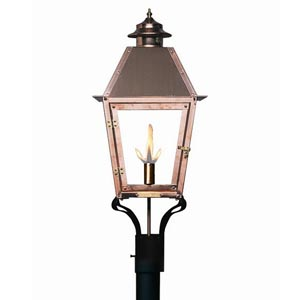 Legendary lighting atlas i post mount gas light fines gas atlas i post mount gas light aloadofball Choice Image