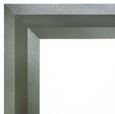 Luminary Linear Aged Silver Frame