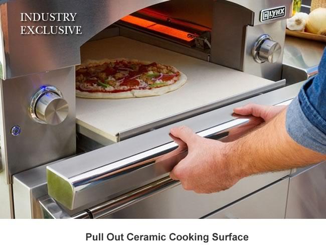 Lynx Outdoor Built In Countertop Pizza Oven Fine S Gas