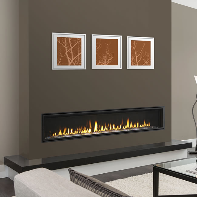 Echelon Ii Wide View 72 Inch Fireplace By Majestic Fine