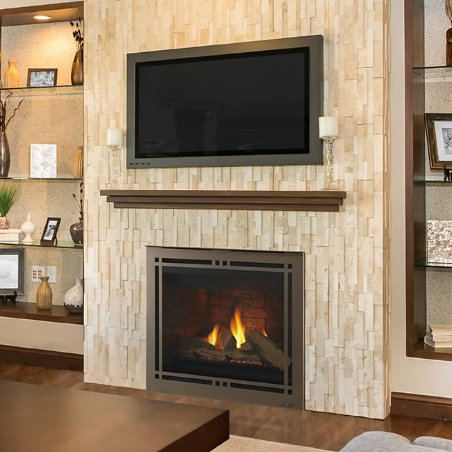Meridian 36 Quot Fireplace By Majestic Fine S Gas