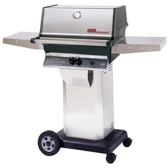 Mhp Tjk Series Propane Gas Grill With Portable Cart Base