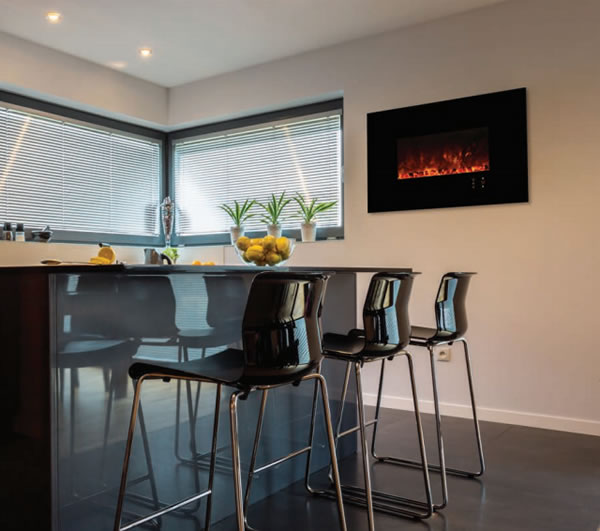 ... Modern Flames Electric Fireplace 45 Inch Linear Recessed ...