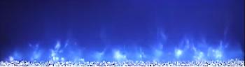 Modern Flames Blue Flame