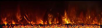 Modern Flames Orange Flame
