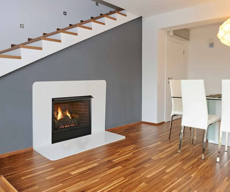 The Monessen Aria Gas 36 Fireplace System Is Available As A Traditional Fireplace With Gas Logs Or A Contemporary Style With Glass Media.