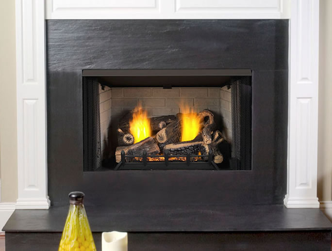 Monessen 18 Inch Kentucky Wildwood Vent Free Gas Logs
