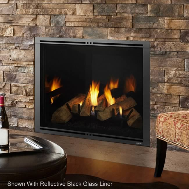 Marquis II 36 Clean Face Direct Vent Fireplace by Majestic ...