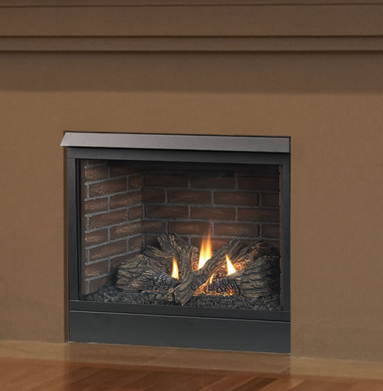 Patriot 42 Inch Direct Vent Fireplace By Majestic Fine S Gas