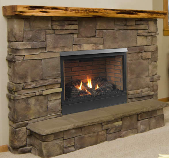 Patriot 36 Inch Direct Vent Fireplace By Majestic Fine S Gas