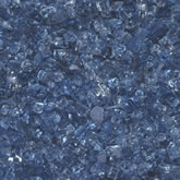 Sapphire Blue Crushed Glass