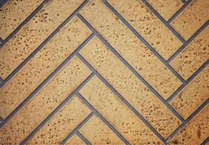 Herringbone Brick Liner