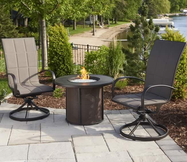 ... Outdoor Greatroom Stonefire Fire Pit Table ...