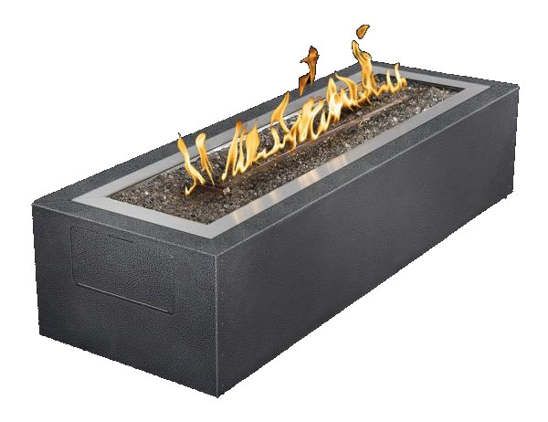patioflame linear fire pit gas outdoor fire pit fine s gas