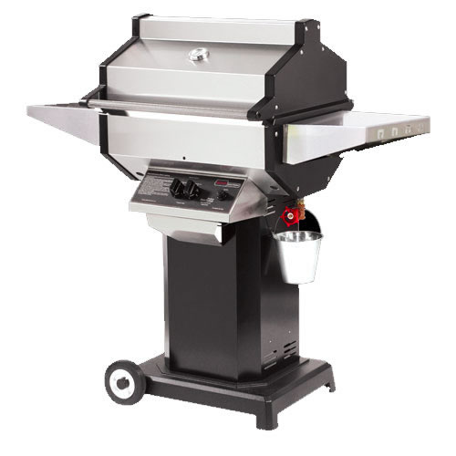 Phoenix Gas Grill With Black Cart