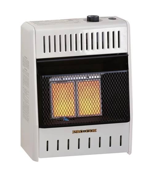Procom 10k Btu Infrared Space Heater Fine S Gas