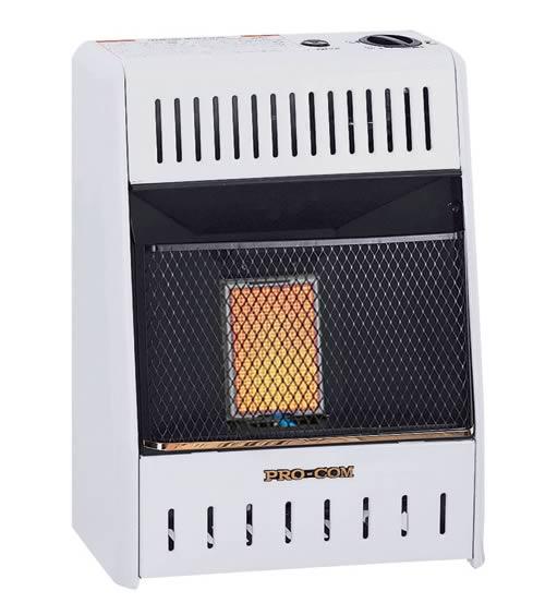 Procom 6k Btu Infrared Space Heater Fine S Gas