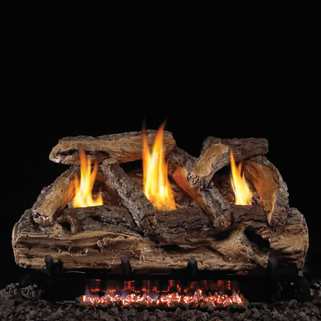 rh peterson real fyre 20 inch split oak logs fine s gas rh finesgas com