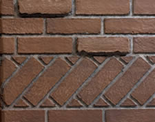 Banded Brick Liner
