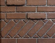 Breckenridge Banded Brick Liner