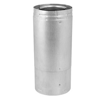 Adjustable Section Of 5 X 8 Direct Vent Pipe Fine S Gas