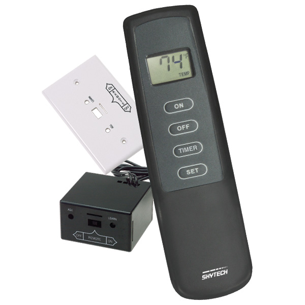 Skytech Manual Remote Control With Timer For Gas Logs And Fireplaces