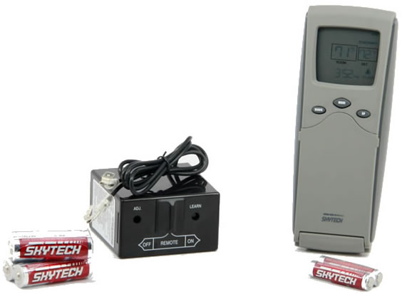 gas fireplace remote control instructions