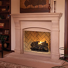 Fine's Gas carries fireplaces from the leading brands