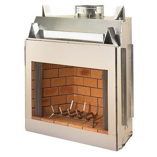 36 Outdoor Real Masonry Wood Burning Fireplace Fine 39 S Gas