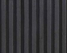 Black Fluted Liner