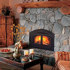 Vent Free Gas Fireplaces · Wood Burning Fireplaces