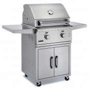 Broilmaster 26 Inch Stainless Cart Grill