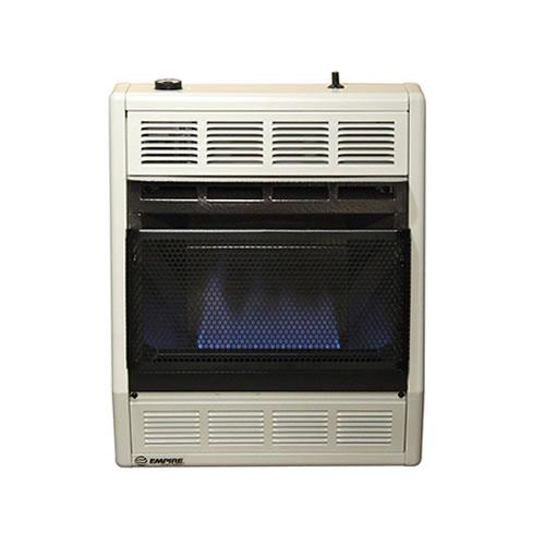 Empire Vent Free Gas Space Heater 20 000 Btu Blue Flame