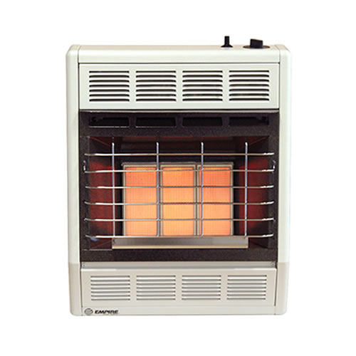 Empire Vent Free Infrared Gas Space Heaters 18 000 Btu