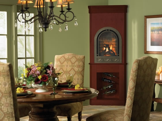 Heat N Glo Crescent Ii Direct Vent Fireplace