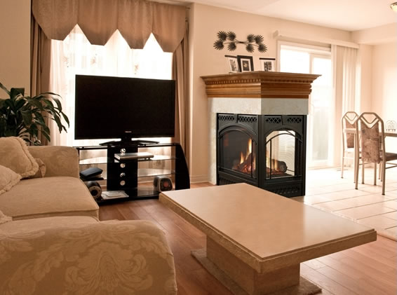 Heat N Glo Pier 36 Direct Vent Fireplace