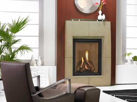Heat N Glo Everest Direct Vent Fireplace