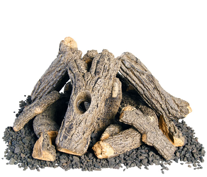 Campfire Log Set For 24 or 30 Inch Fire Pits - Campfire Outdoor Log Set For 24 Or 30 Inch Fire Pits Fine's Gas