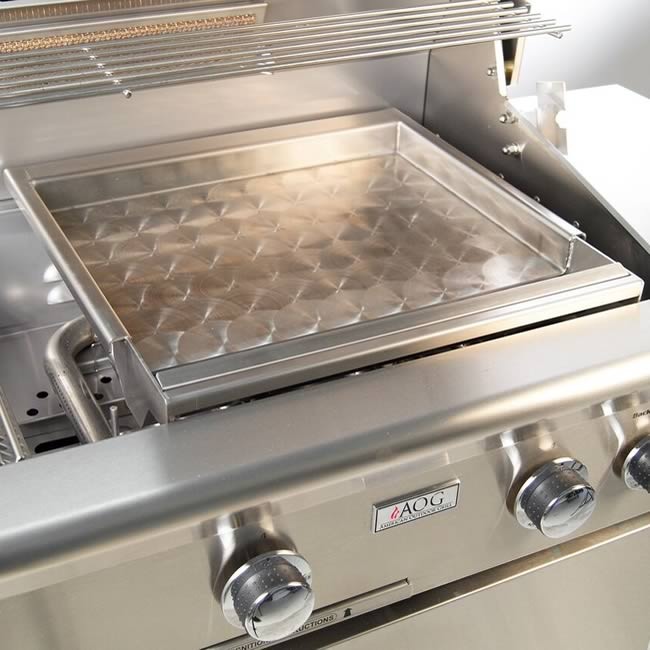 AOG Stainless Steel Grill Griddle & American Outdoor Grill Stainless Steel Griddle | Fineu0027s Gas