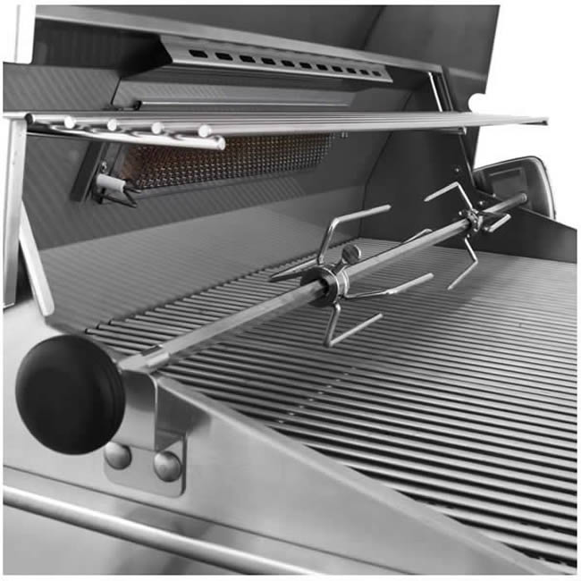 American Outdoor Grill 24 Quot Grill With Rotisserie Amp Side