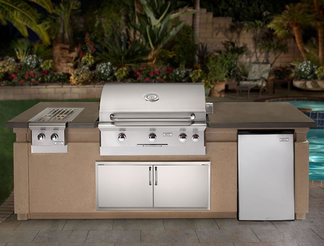 American Outdoor Grill Outdoor Kitchen Island Package