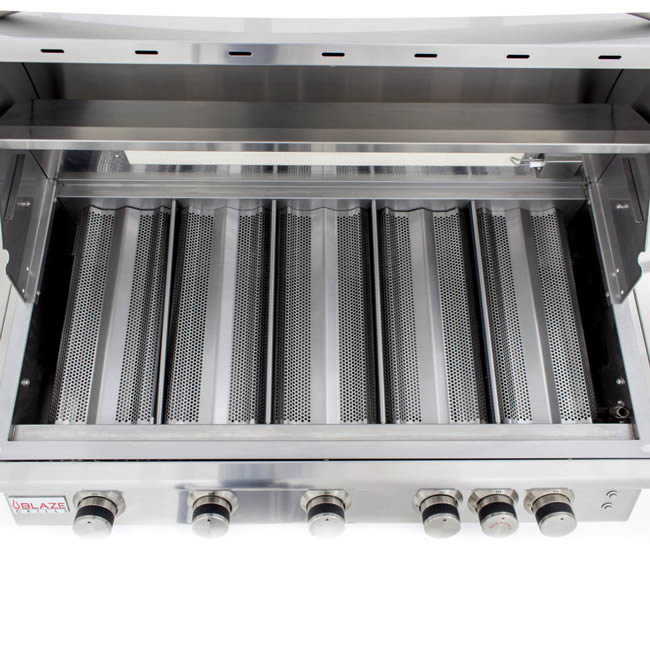 Blaze Grills 40 Quot Lte Series Built In With Lights Fine S Gas