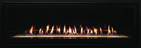Boulevard Fireplace Black Trim