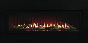 Boulevard Fireplace With No Trim